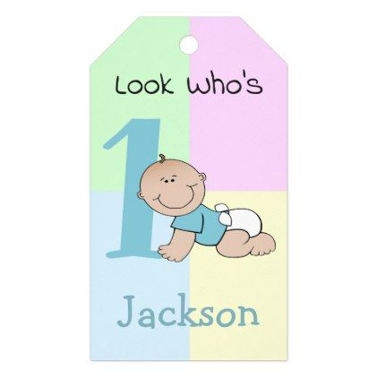 Cute cartoon baby boy 1st birthday gift tags baby birthday sweet cute cartoon baby boy 1st birthday gift tags baby birthday sweet gift idea special customize negle Choice Image
