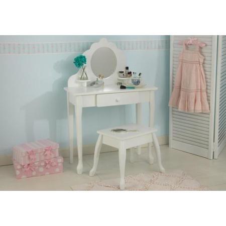 Kids Vanity Table Set - Medium Diva Vanity Table and Stool Set - KidKraft Furniture -  sc 1 st  Pinterest & Kids Vanity Table Set - Medium Diva Vanity Table and Stool Set ...