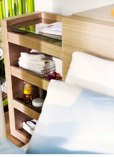 New Ikea Headboard with Storage