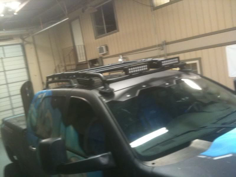 Megacab Roof Racks Experimenting With A Fj Rack Dodge Ram Forum Ram Forums And Owners Club Dodge Truck Forum Roof Racks Safari Rack Rack