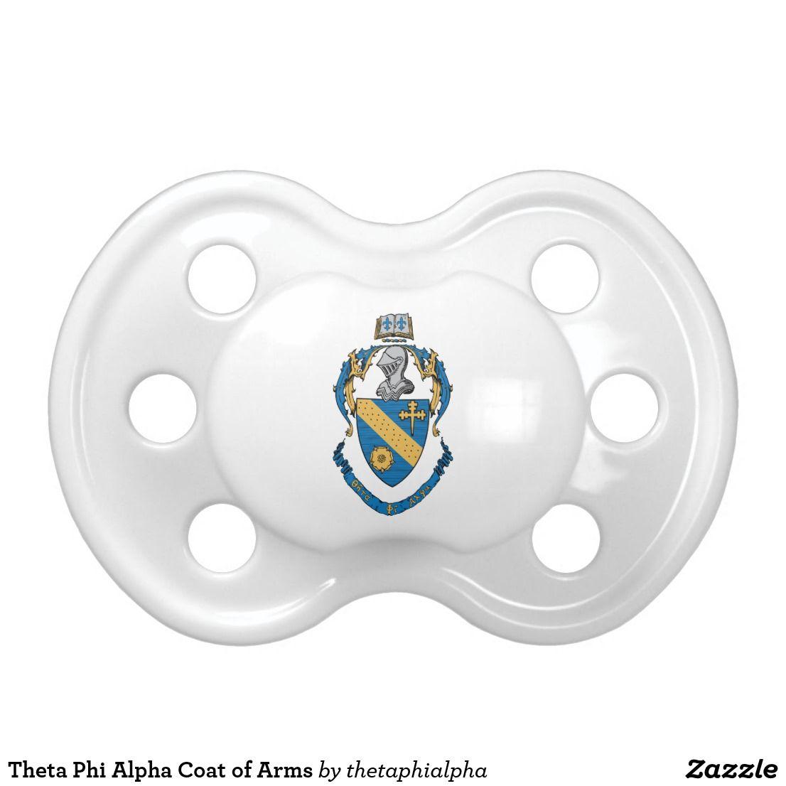 Theta Phi Alpha Coat Of Arms Pacifier Zazzle Com Theta Kappa