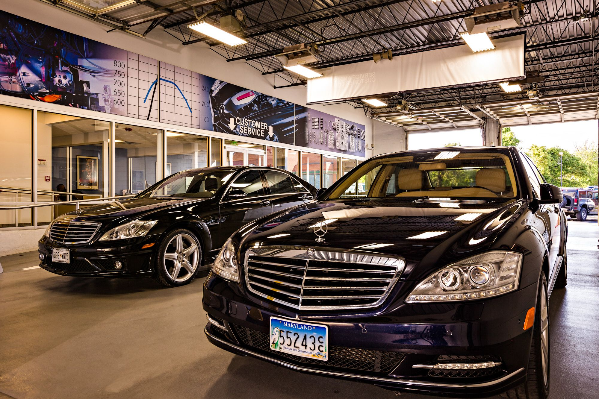 Maryland s Premier Mercedes Benz Service Facility Mercedes Benz of