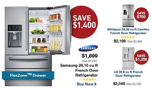 Black Friday Refrigerator Deals Cyber Monday Sales 2014 Refrigerator Deals Kitchen Remodel Design Refrigerator Drawers