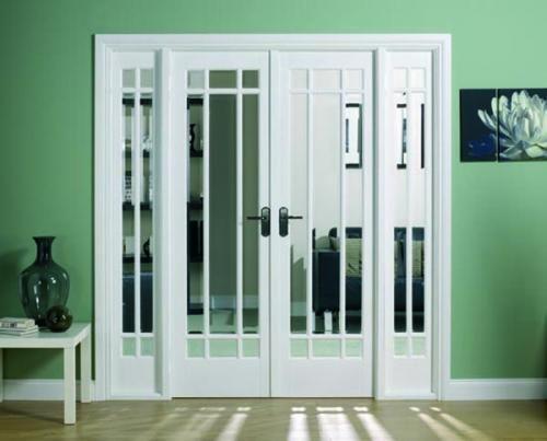 Manhattan Room Divider Range Internal French doors with sidelight