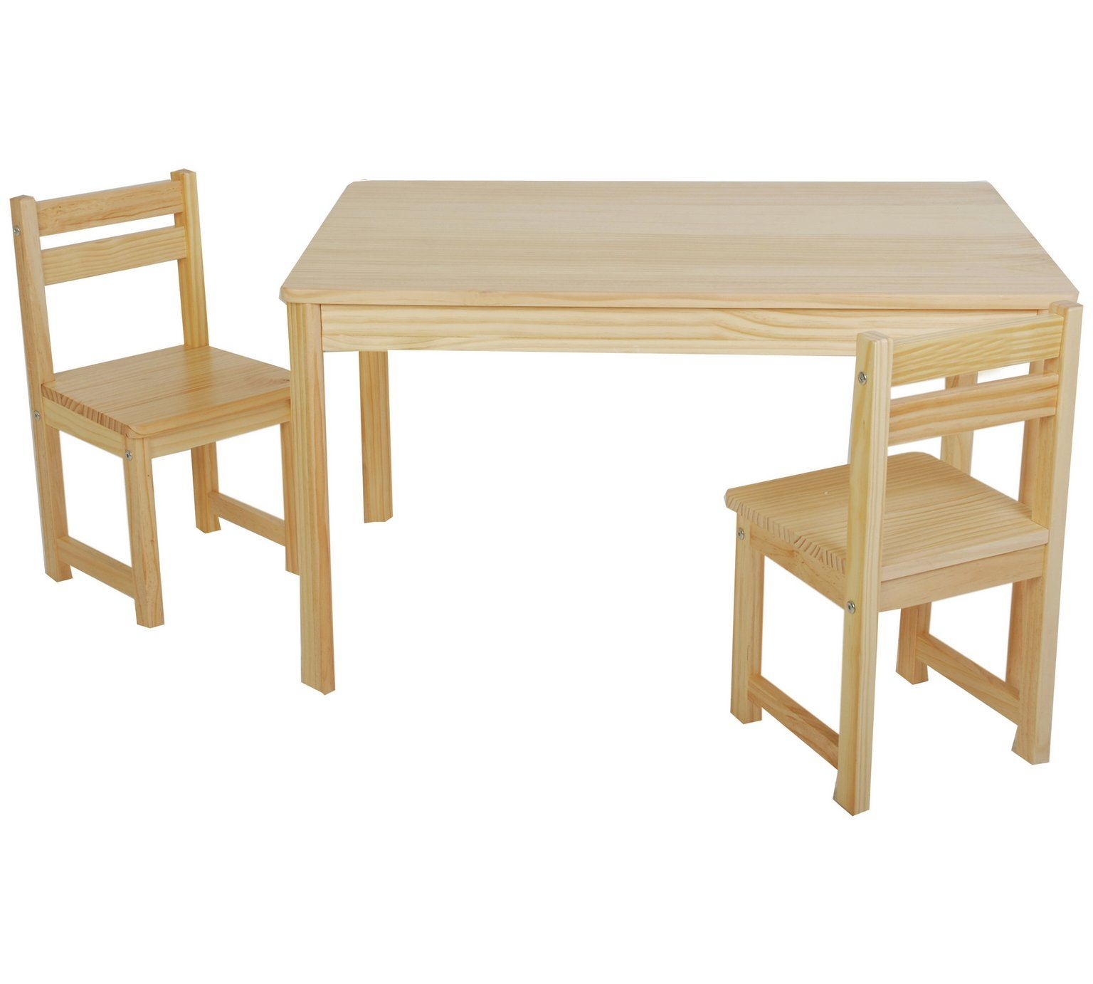 Buy Tikk Tokk Little Boss Nursery Table and Chairs Set Natural