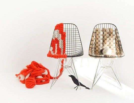 DIY Midcentury: Knitted Eames Chair — ReCraft