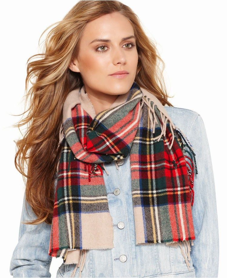 00fa4b8f7d Weekly Shopping Update: Green   Prints & Patterns   Plaid scarf ...
