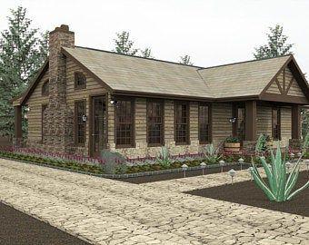 Modern Plan with bonus room Farmhouse farm house plans home plans construction plan