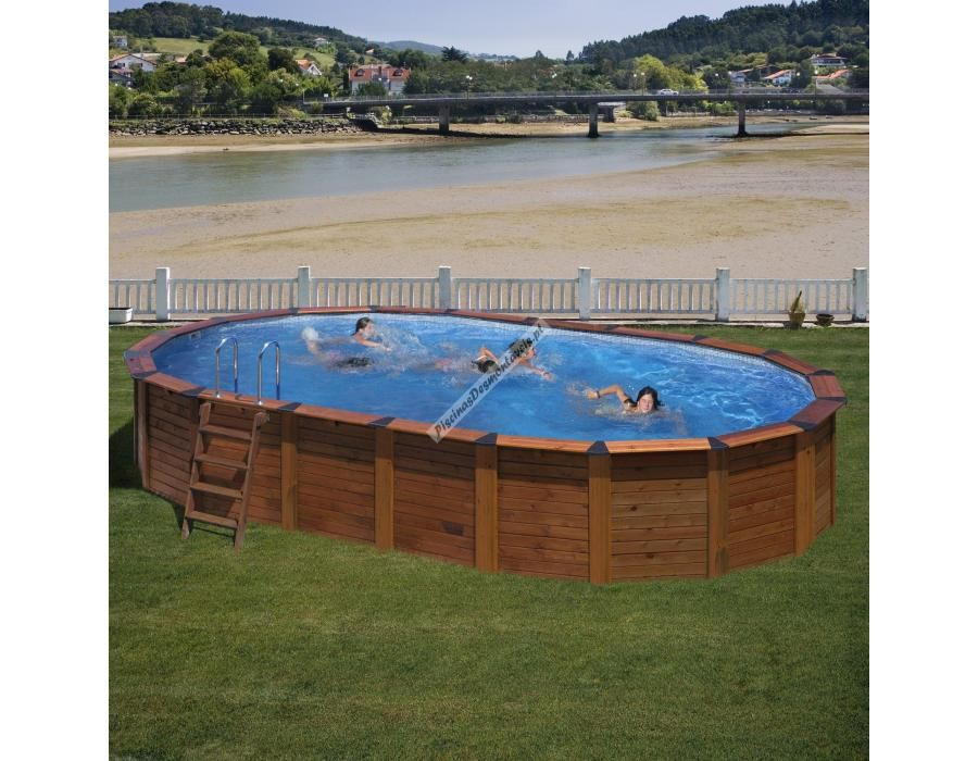 Para os amantes das piscinas de madeira em piscinas - Fabricante de piscinas ...