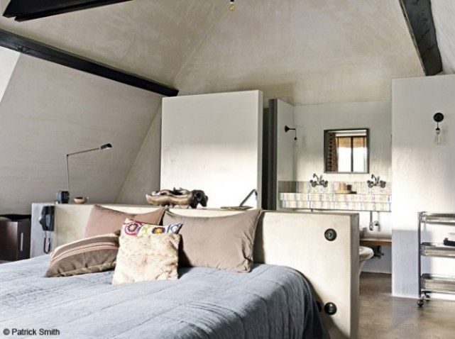 Suite parentale combles quartos pinterest suite for Photo de chambre parentale