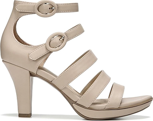 a9dff44036b5 Naturalizer Women s Shoes in Taupe Smooth Color. Strap in to comfort and  style in the Dessie Dress Sandal from Naturalizer.