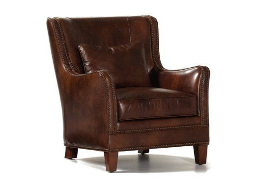 Vermont Leather Chair By Randall Allan Is A Part Of Furniture Collection Available At Knight Showrooms In Florence Sc