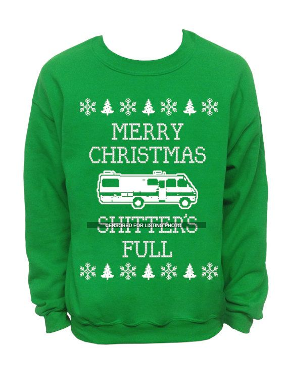 merry christmas sh tters full ugly christmas sweater