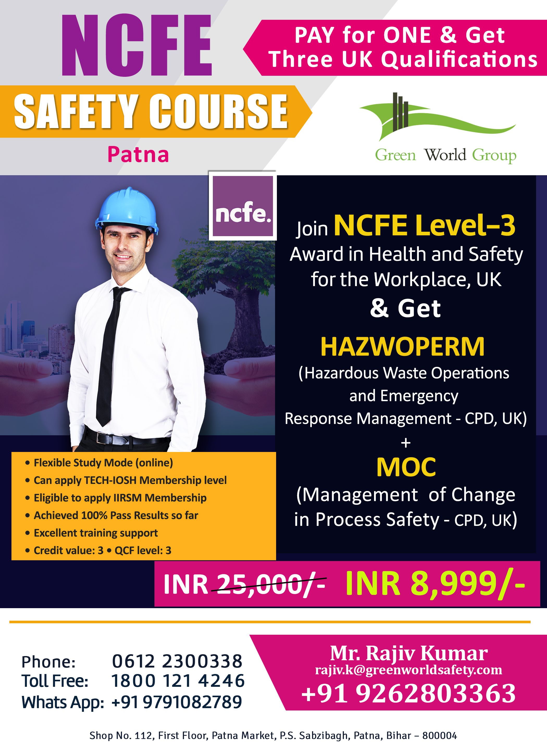Green World Group is a professional safety educational