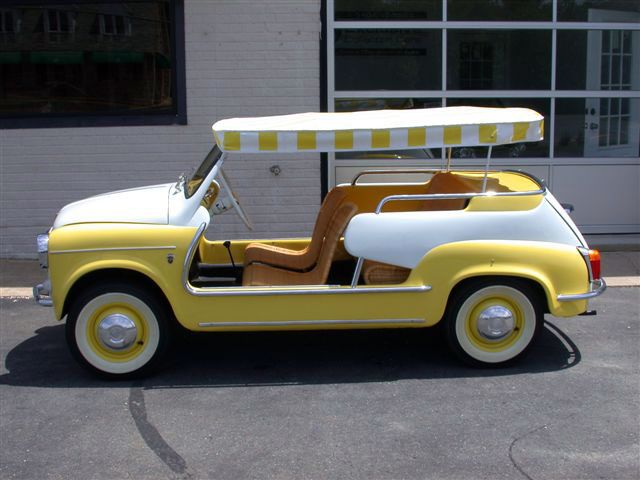 1395e1351177 1960 Fiat Jolly 600 - Soooo cute   Things I love   Fiat, Cars, Fiat 600