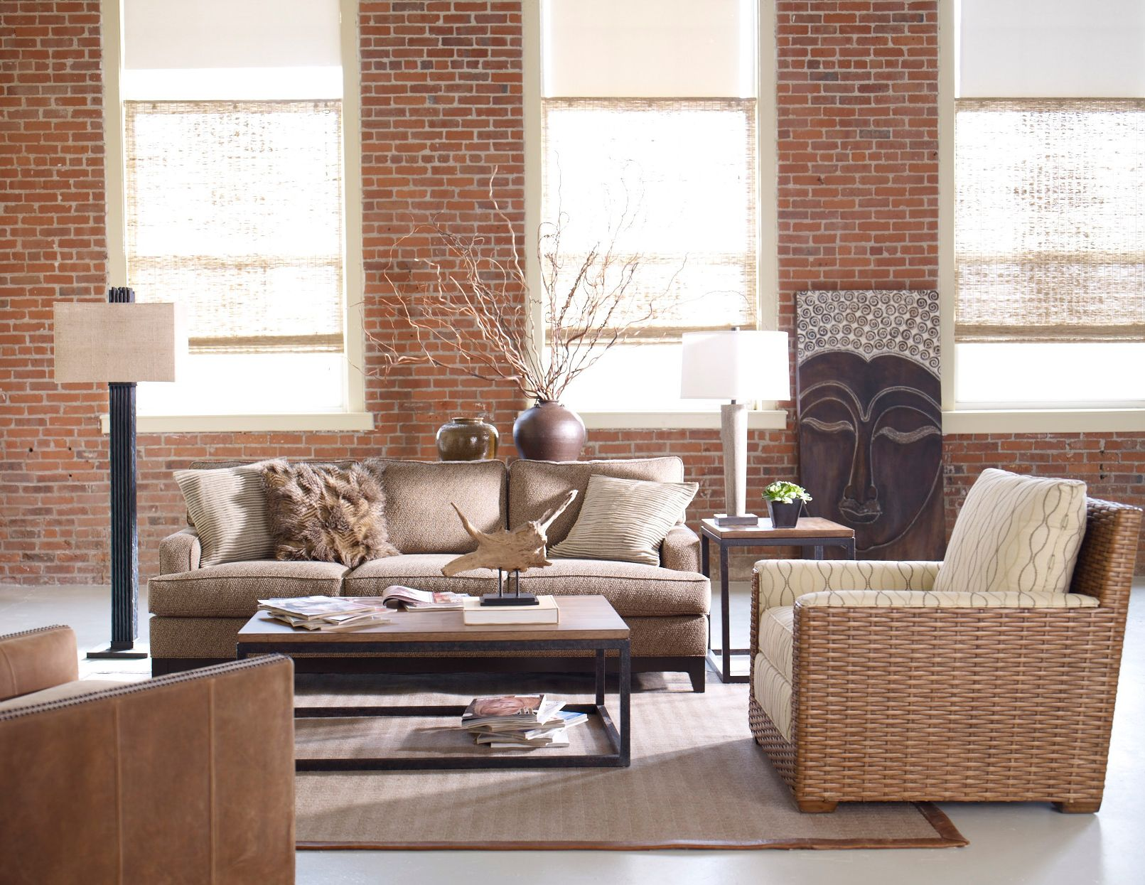 Textures tell this story ethan allen living rooms pinterest