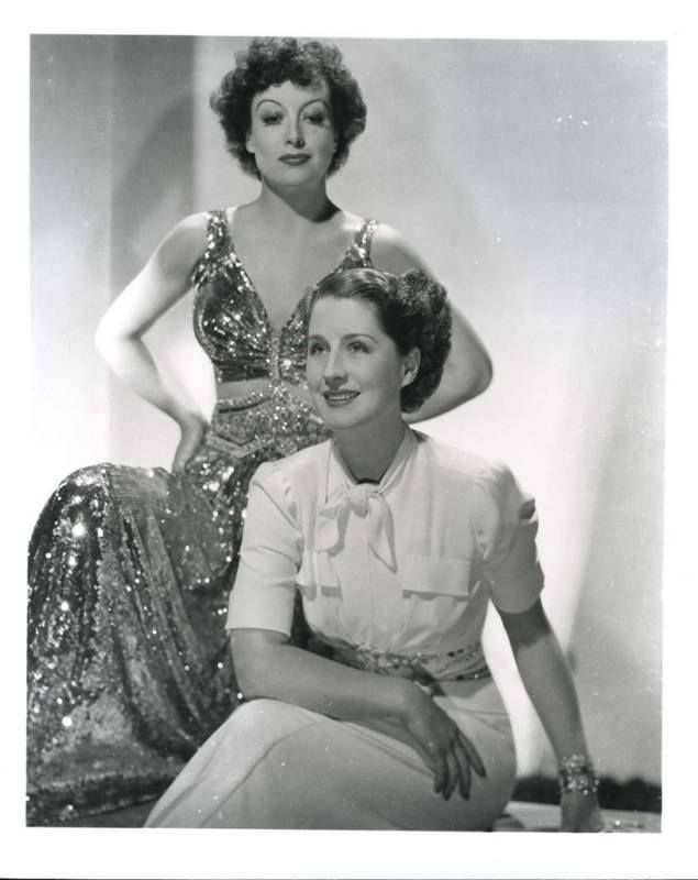 "Joan Crawford and Norma Shearer in ""The Women"" (1939)"