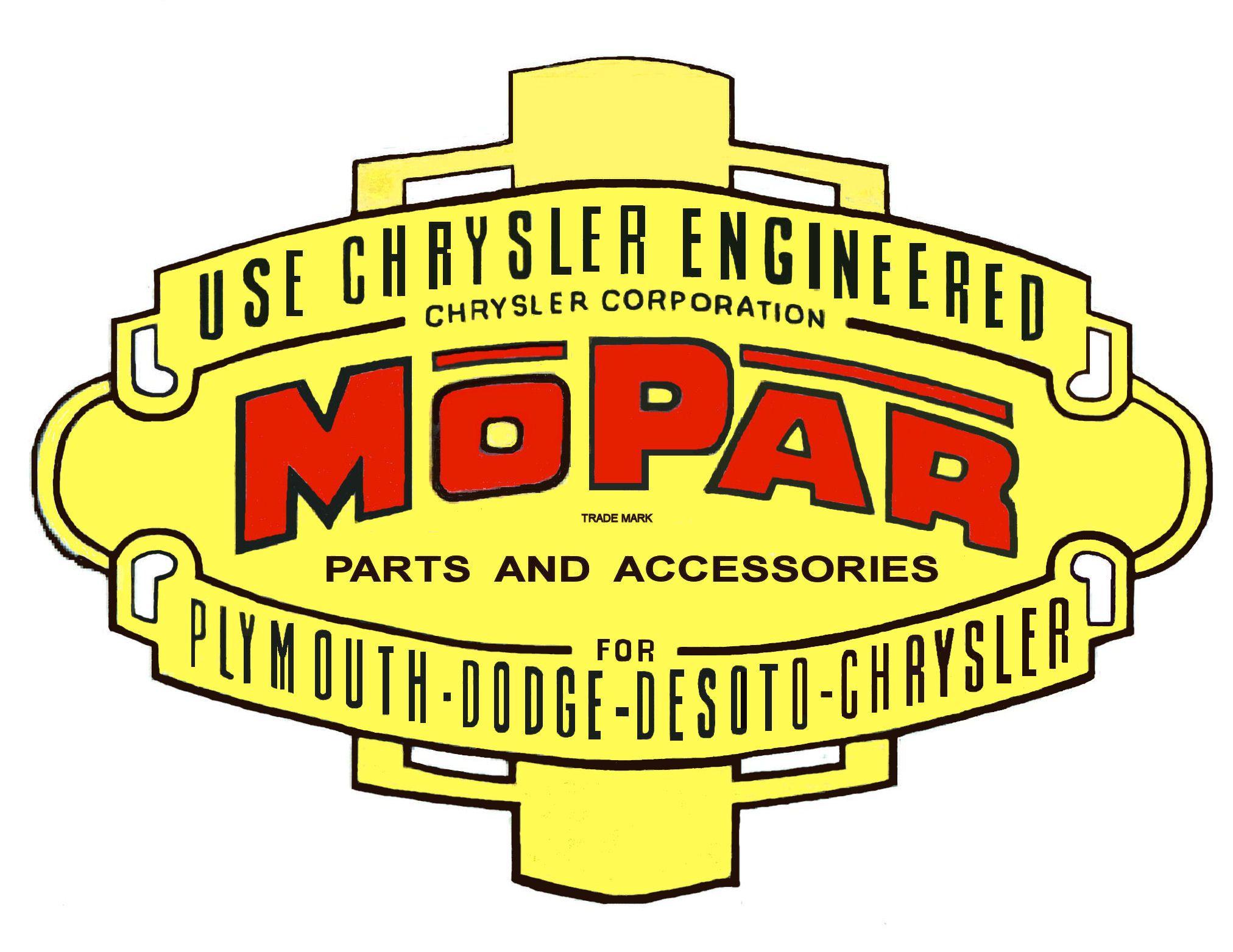 MOPAR logo 1940s Mopar 40s.jpg (2024×1563) Mopar