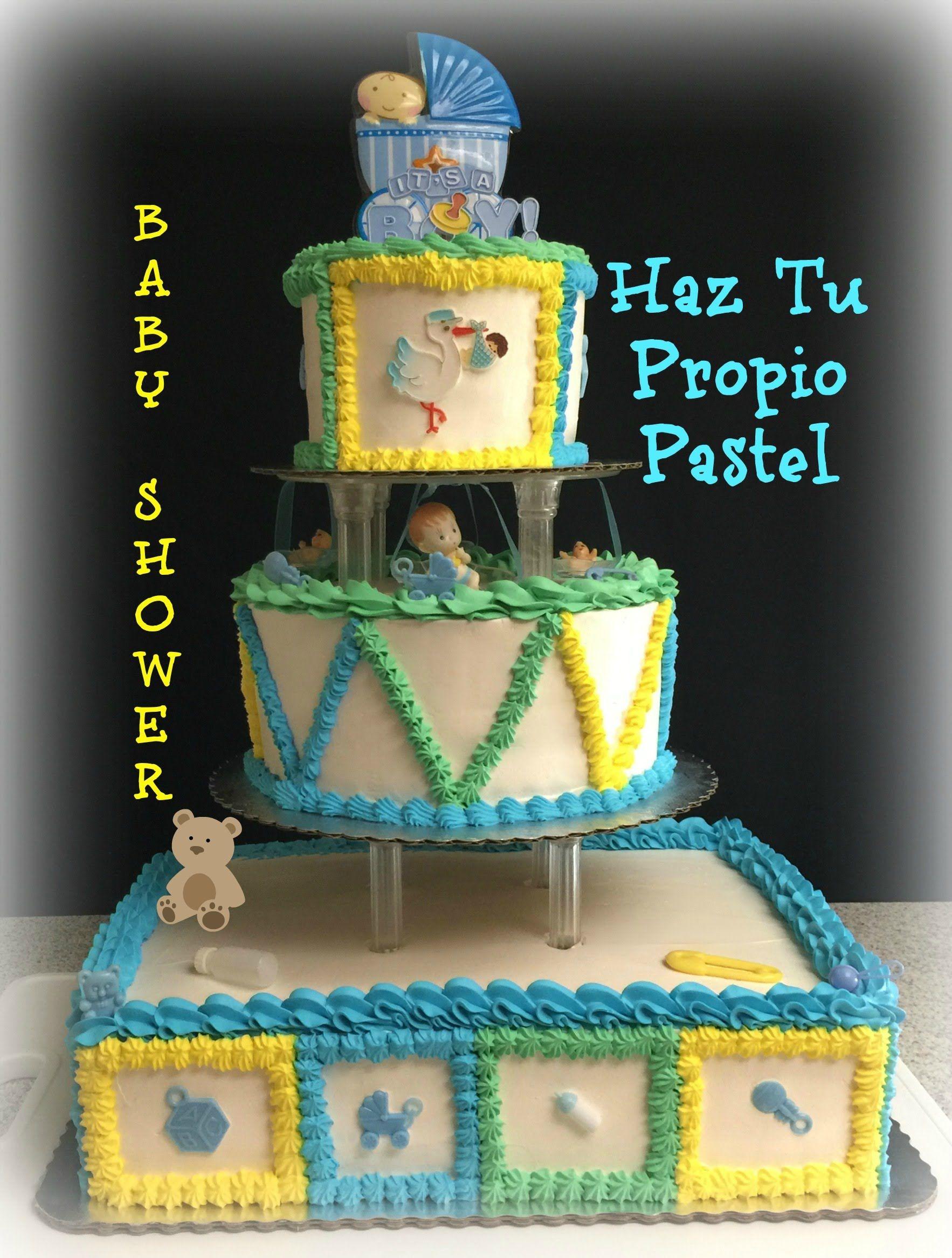 Haz Tu Propio Pastel De Baby Shower Paso A Paso
