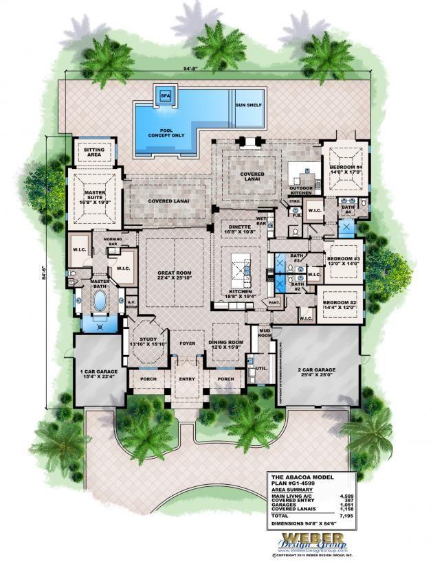 west indies floor plan