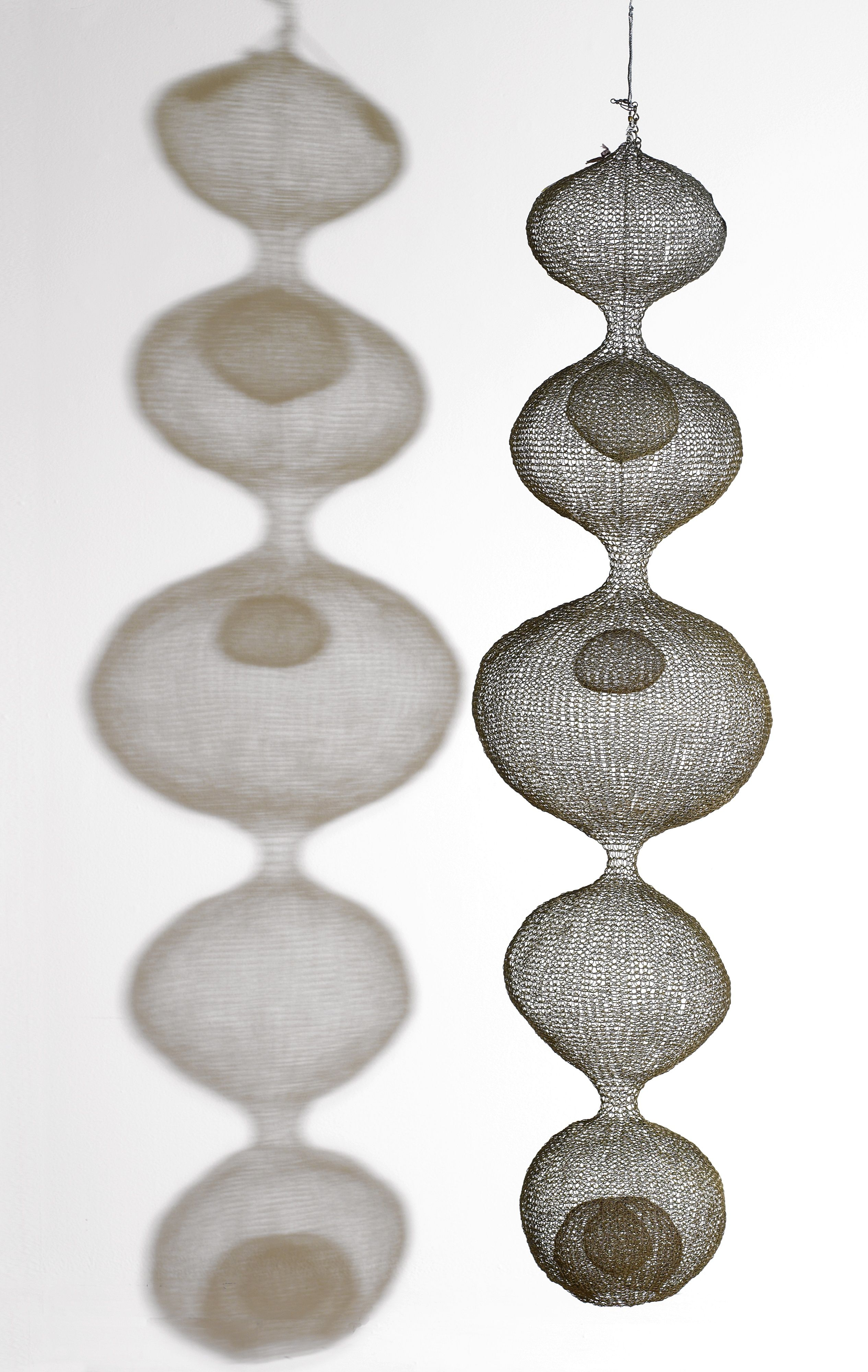 Ruth Asawa; untitled, Crocheted Copper Wire, c1952. | SCULPTED ...