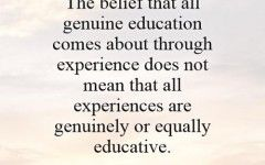 Quotes About Education Through Experience