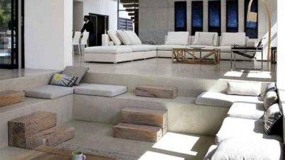 Desain rumah minimalis type inspirasi dan lantai project  pinterest modern living rooms and also rh in