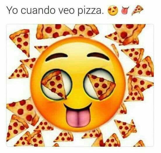 Cuando Veo Pizza Cute Emoji Wallpaper Emoji Wallpaper Cute Emoji