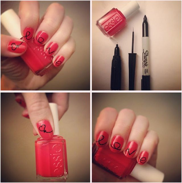 15 nail art hacks to do on yourself nails pinterest nail art 15 nail art hacks to do on yourself solutioingenieria Images