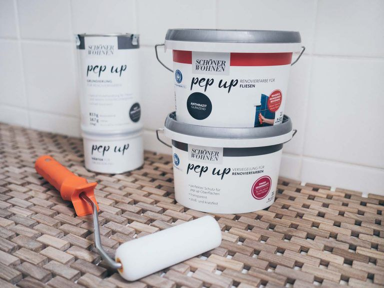 DIY Fliesen streichen im Bad - Badezimmer Makeover Teil 2 • Yeah Handmade