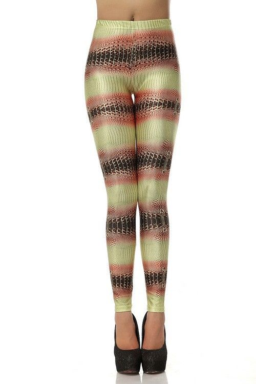 444d44890 SEXY LADY GALAXY LEGGINGS PRINTED COSMIC SPACE PANTS TIE DYE TIGHTS NEW  VINTAGE FASHION KHAKI SNAKESKIN PATTERN DIGITAL PRINTING SEXY LEGGINGS FOR  WOMEN
