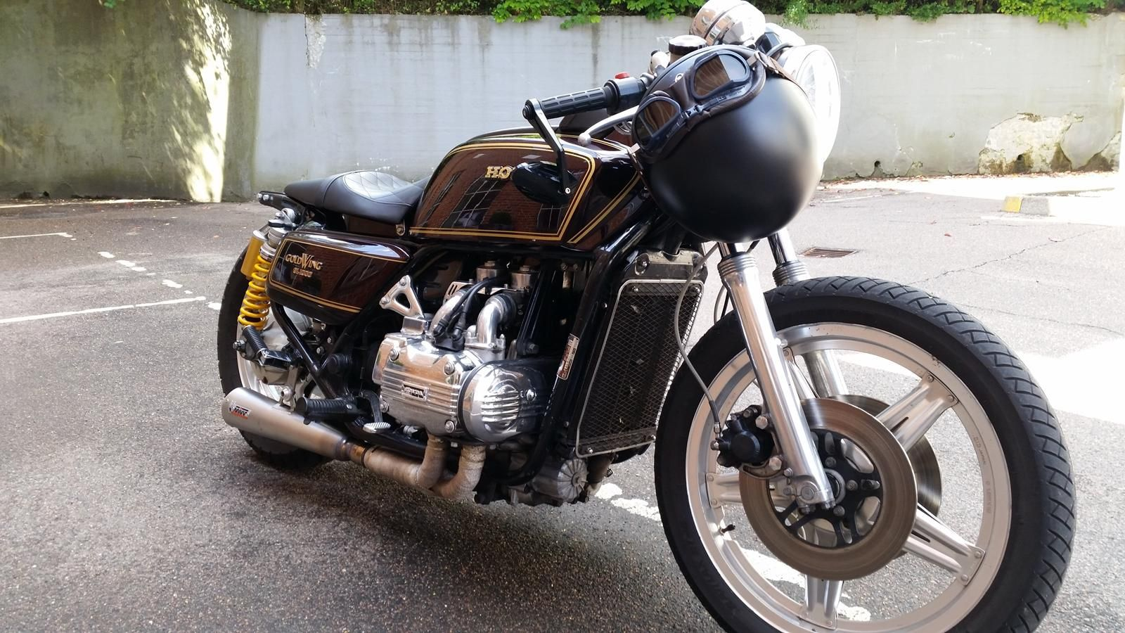 Honda Goldwing GL1000 Cafe Racer | Harley Road King .....and some ...