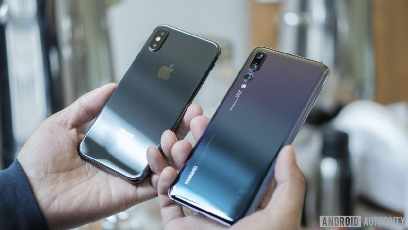 Huawei P20 Pro vs Apple iPhone X: Notches galore#Google