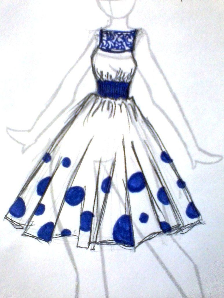 easy fashion design sketches - photo #37