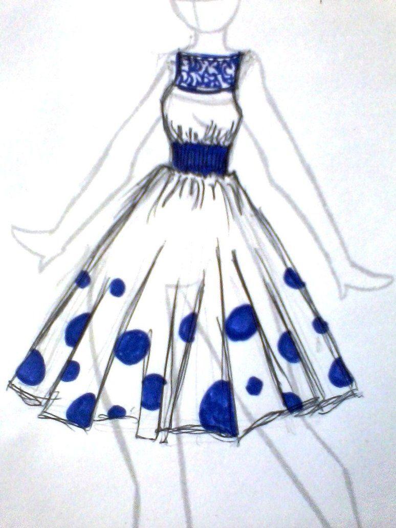 easy fashion design sketches - photo #37
