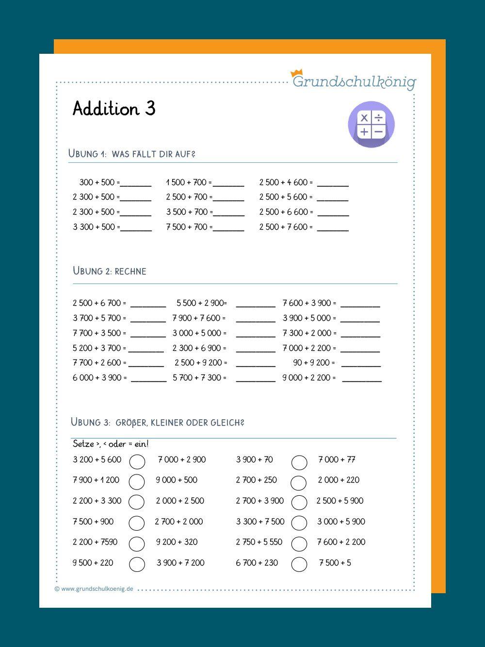 Addition und Subtraktion im Zahlenraum 20 20   Mathematik 20 ...