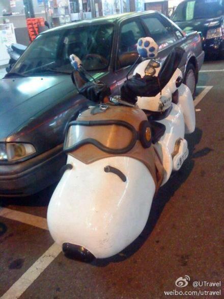 #snoopy #motobike I WANT ONE!