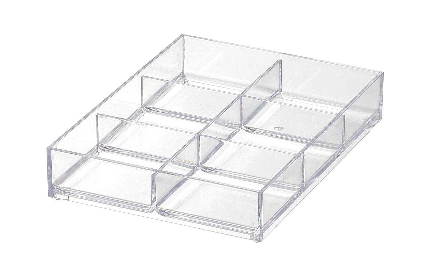 Like It Mx T11 Drawer Organizer Tray Mini 6 Compartment Clear You Can Get Additional Details In 2020 Tray Organization Craft Storage Box Storage Room Organization
