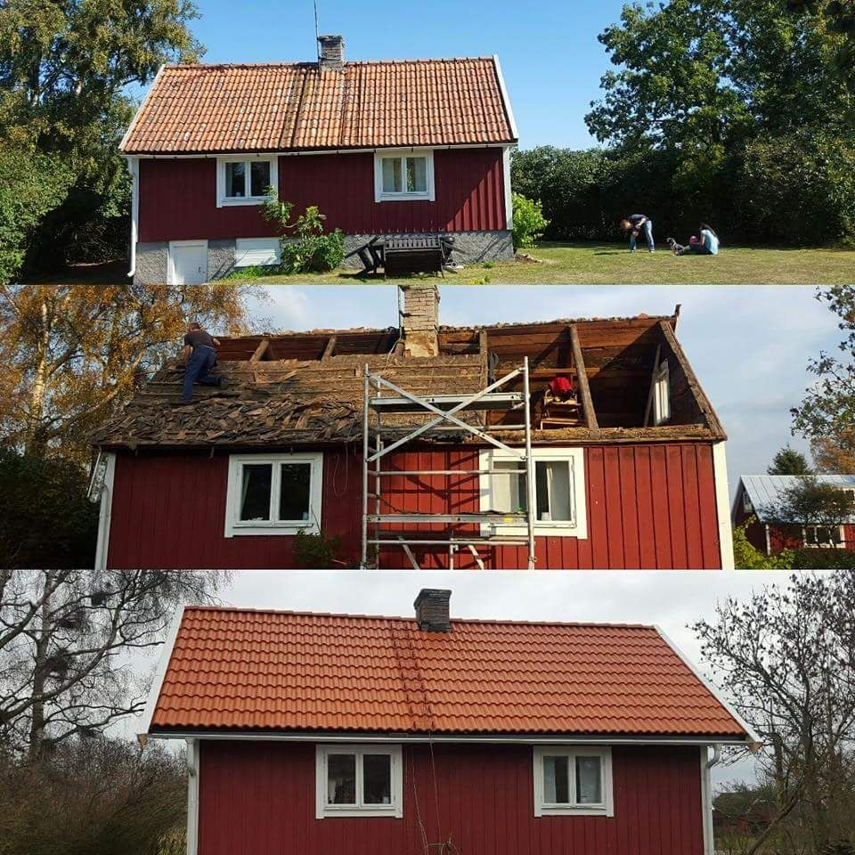 Diy Home Decorations Blog Replacing A 100 Year Old Tile Roof First Diy House Project In My Life Http Ift Tt 2pcf Diy House Projects Home Projects Home Diy