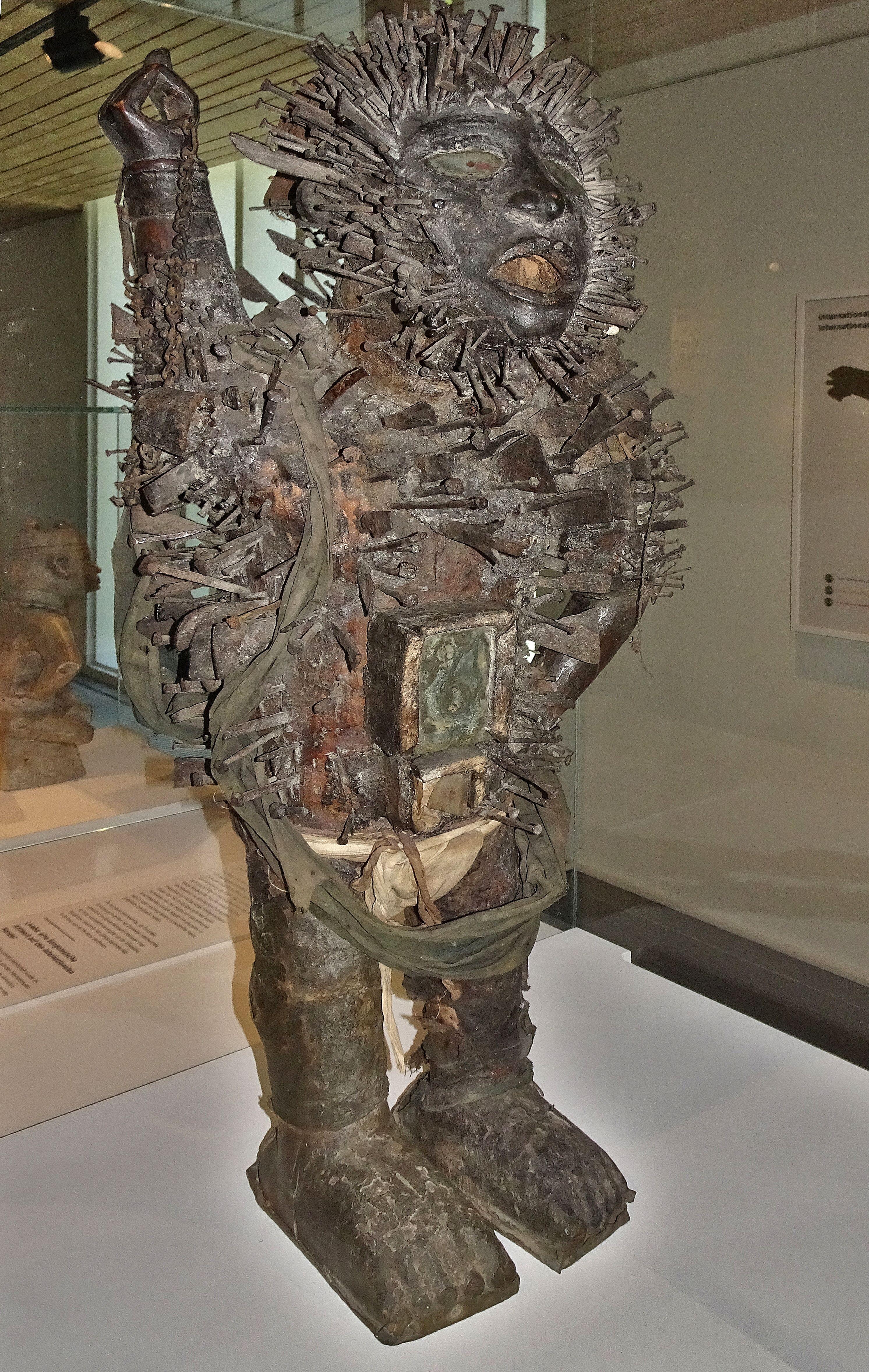 Berg En Dal Afrika Museum Standbeeld Musea Beeldhouwwerk