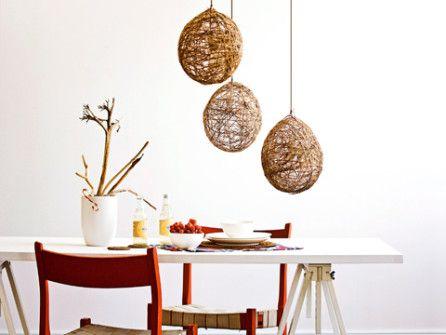 tuto vid o comment faire une boule en ficelle ou en fil tableau diy twine et craft projects. Black Bedroom Furniture Sets. Home Design Ideas