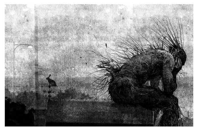 Afbeeldingsresultaat voor a monster calls illustrations
