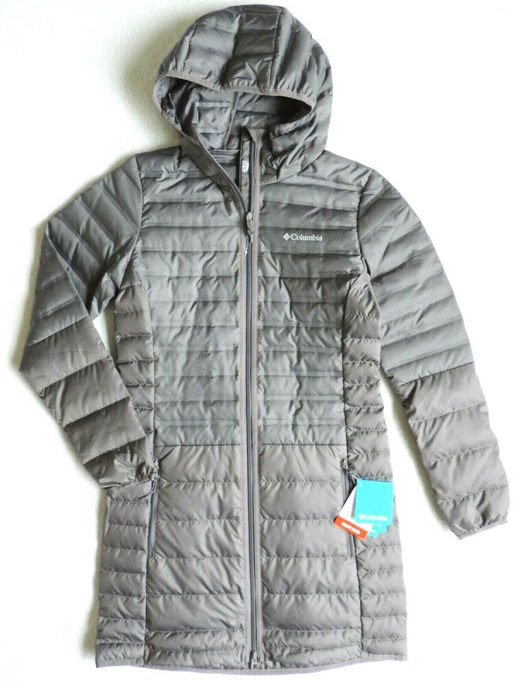 Columbia Women's McKay Lake Long Hooded Down Lightweight ...