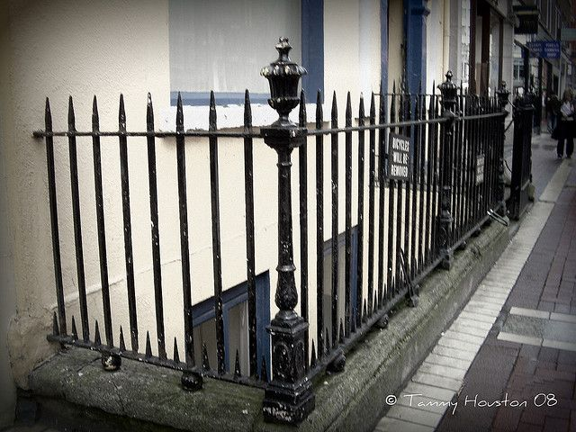 Quality iron-work with balustrades and gates a speciality.