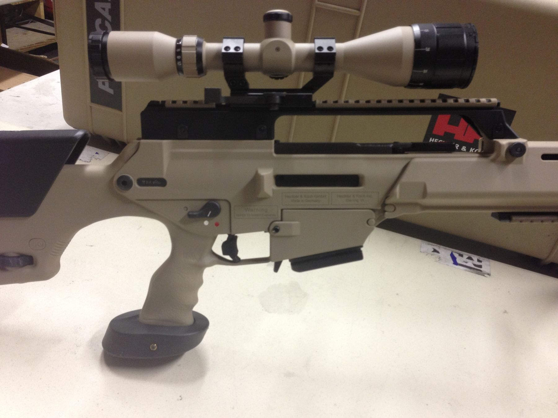 Thumb hole replacement stock