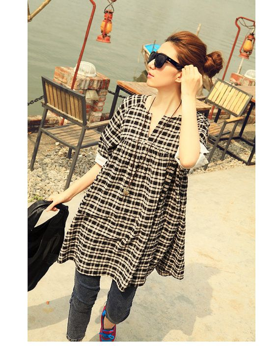 Hey, I found this really awesome Etsy listing at https://www.etsy.com/listing/187034615/loose-fitting-soft-cotton-long-shirt