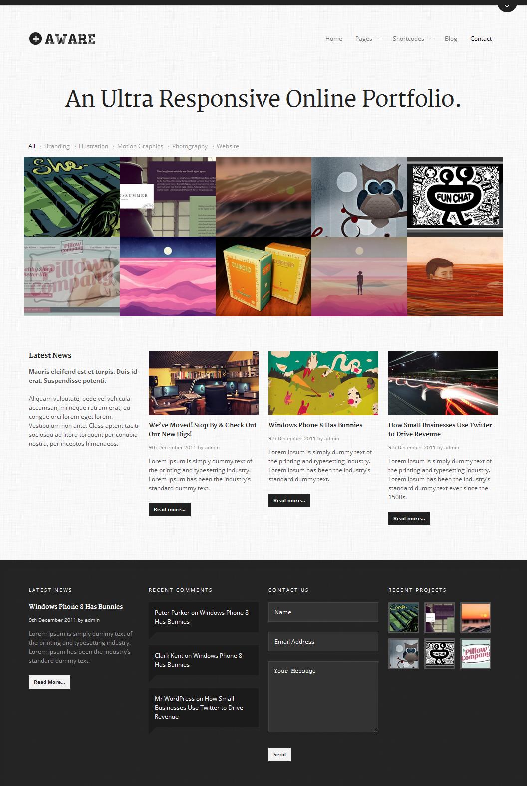 Wordpresstemplate Wordpress Theme Responsive Web Design Web Design Tools