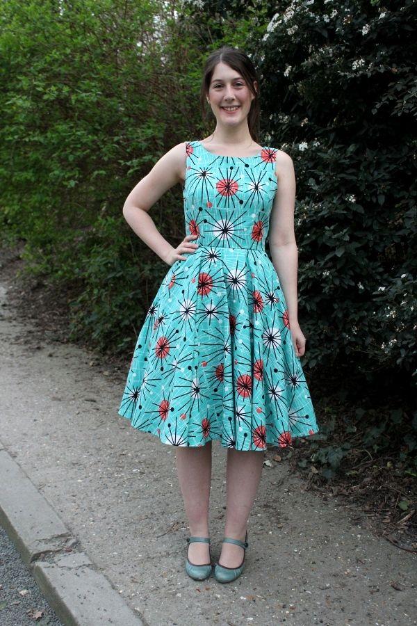 Atomic Dress , Butterick B5748
