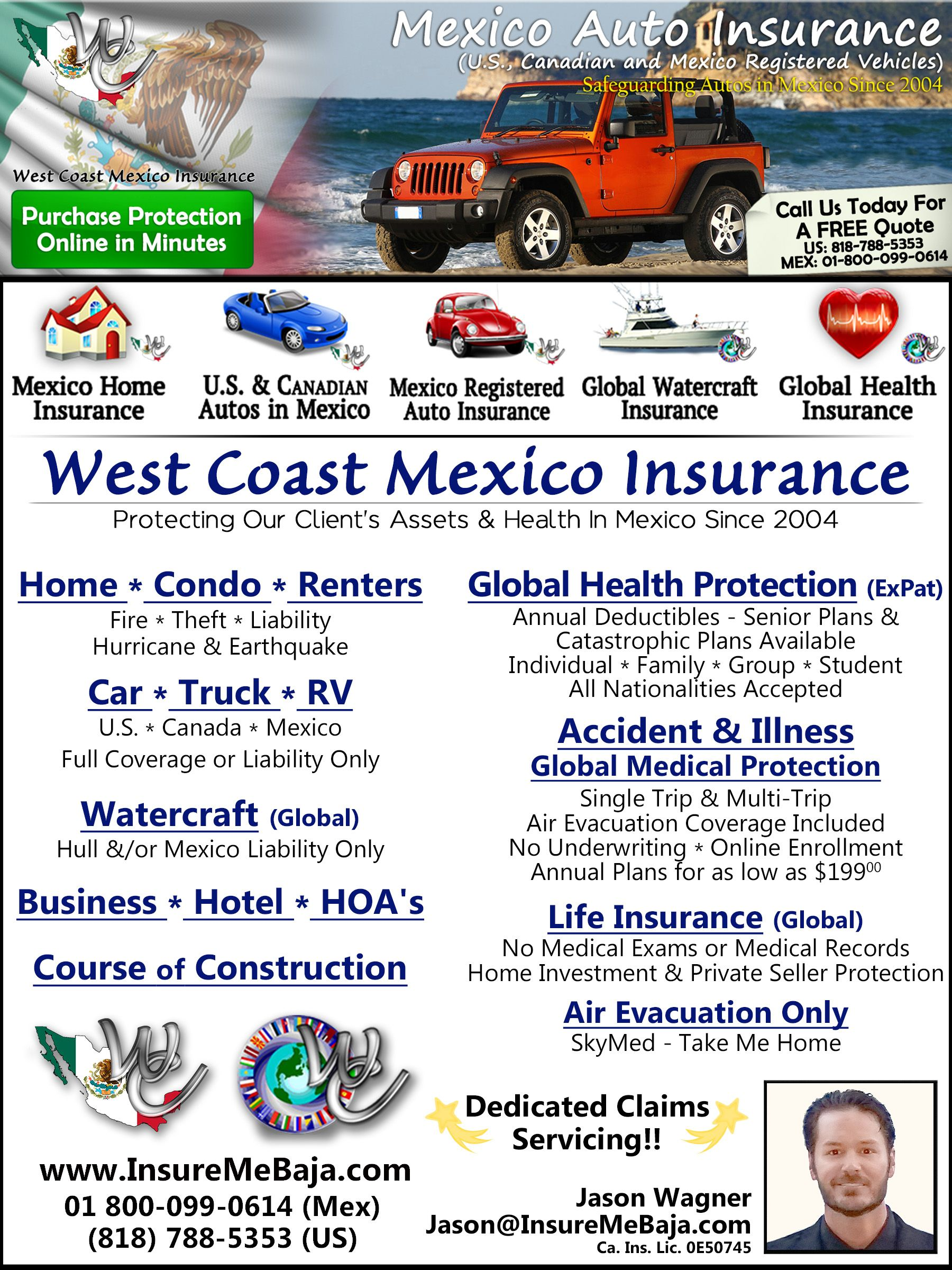 Online Mexico Auto Insurance Get Pricing From The Top 5 Insurance
