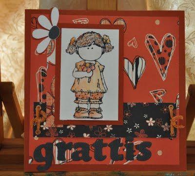 Nicolettes PapirBlog: Grattis